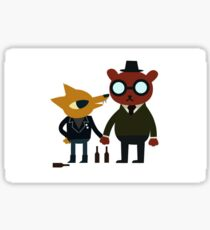 A Night In The Woods (Gregg & Angus) Sticker