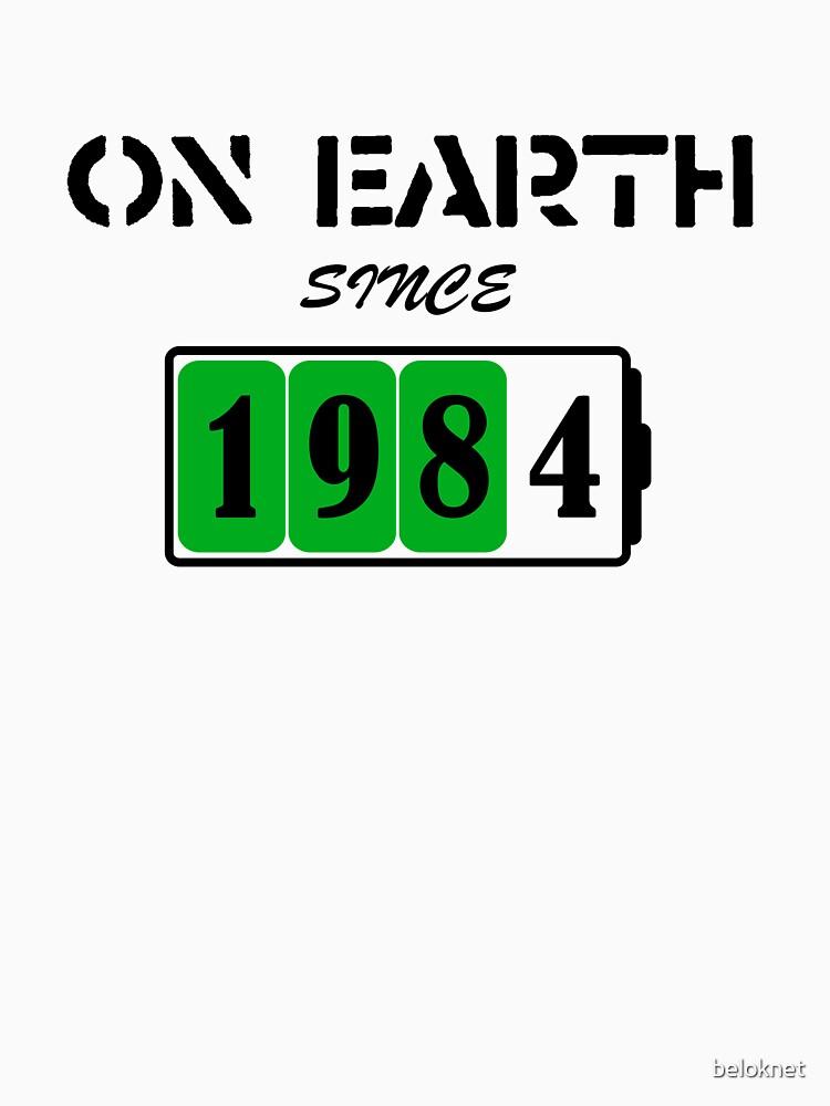 On Earth Since 1984 by beloknet