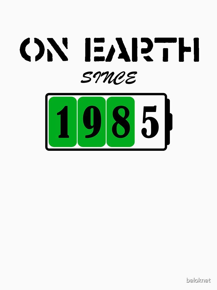 On Earth Since 1985 by beloknet