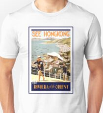 Vintage Hong Kong Travel Unisex T-Shirt
