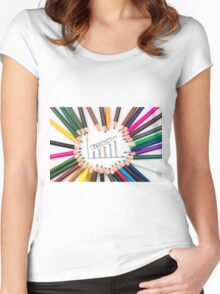 Creativity Women's Fitted Scoop T-Shirt