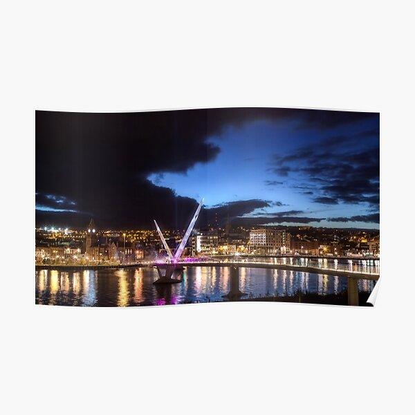 Derry - Peace Bridge Poster