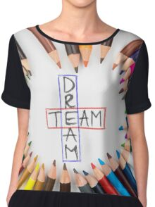 Dream Team Chiffon Top