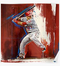 Mike Trout - Los Angeles Angels Poster