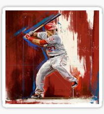 Mike Trout - Los Angeles Angels Sticker