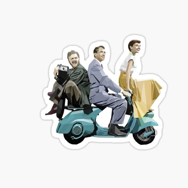 Audrey Hepburn: Roman Holiday Sticker