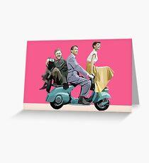 Audrey Hepburn: Roman Holiday Greeting Card