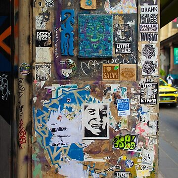 Centre Place Sticker Wall by melbournedesign