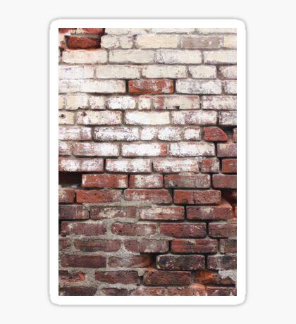 Broken Wall 3 Sticker
