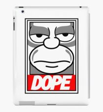 Dope - The Simpsons iPad Case/Skin