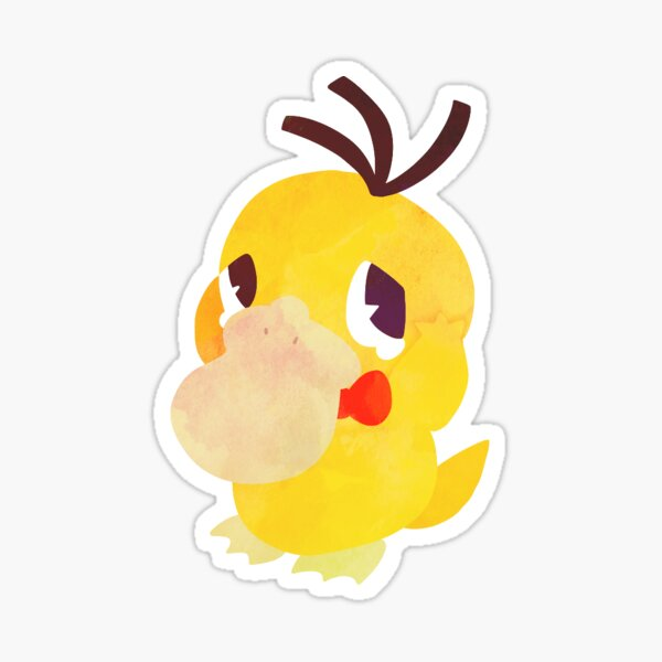 Psychic Duck Sticker