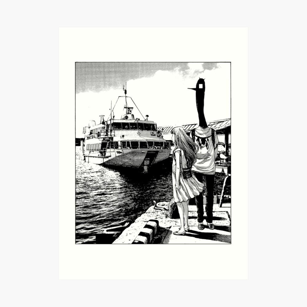 Punpun - By the Sea Art Print