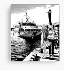 Punpun - By the Sea Canvas Print