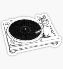 Put Your Record On Sticker