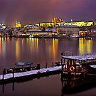 Winter nights in Prague by Hercules Milas