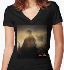 Omar Ibn Alkhattab Women's Fitted V-Neck T-Shirt