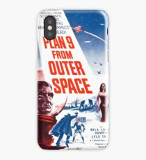PLAN 9 from Outer Space iPhone Case