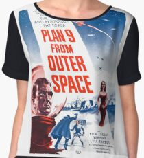 PLAN 9 from Outer Space Chiffon Top