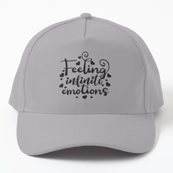 Feeling infinite emotions The Bold Type quotes Baseball Cap