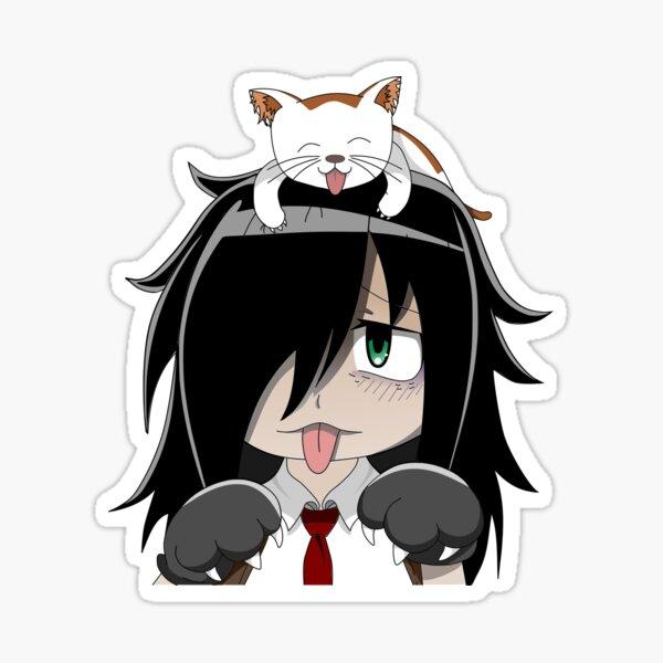 Neko Tomoko Sticker