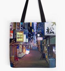 Bolsa de tela Night in Japan