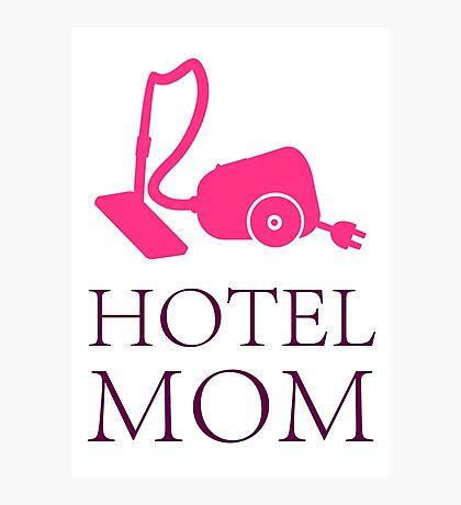 Hotel Mom - Service Crew VRS2 Photographic Print