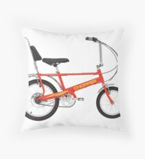 raleigh chopper Throw Pillow