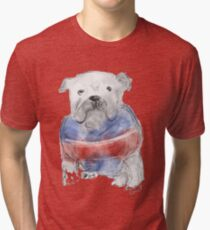Western Bulldogs ( Go Doggies! ) Tri-blend T-Shirt