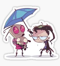 Invader Zim Sticker