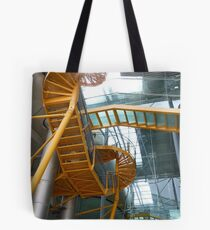 Modern fire escape Tote Bag