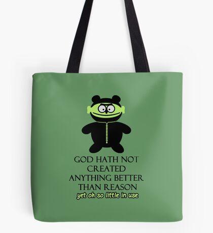 Prophet: God created Reason VRS2 Tote Bag