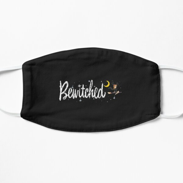 Bewitched, distressed  Flat Mask