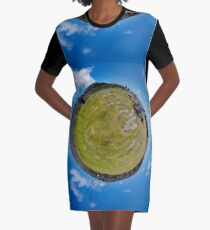 Fortified Ball - Inside Dun Aengus stone fort Graphic T-Shirt Dress