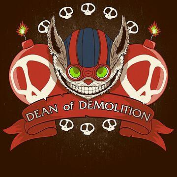 Dean of Demolition. by jcmaziu