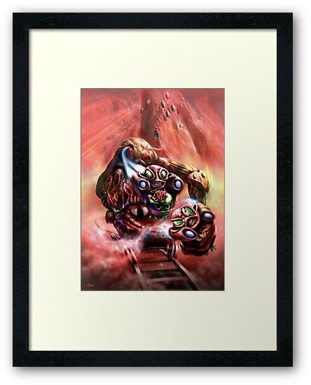 Gorgon and Zola by Tom Godfrey