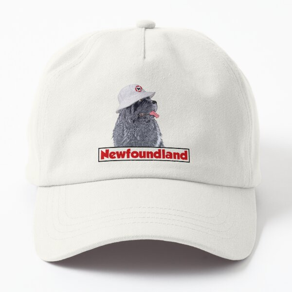 Newfie with Bucket Hat Dad Hat