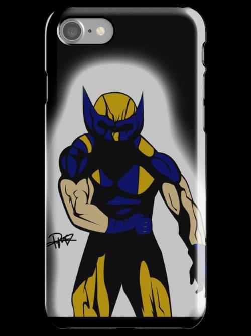 Wolverine Pose by PMckennaDesigns