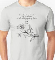 Sylvia Plath - I am, I am, I am. Unisex T-Shirt