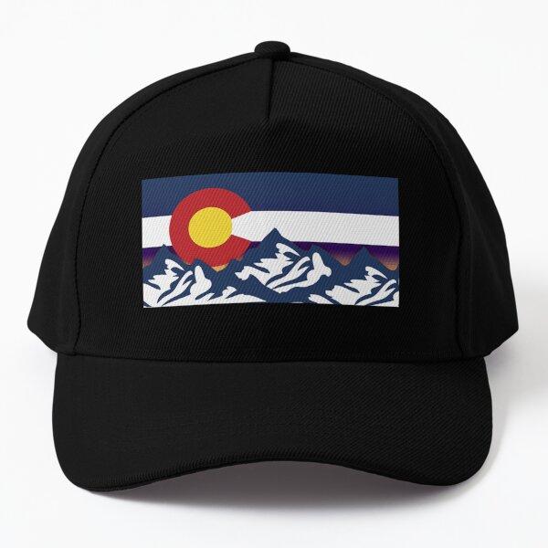 COLORADO FLAG CAP HATS Baseball Cap