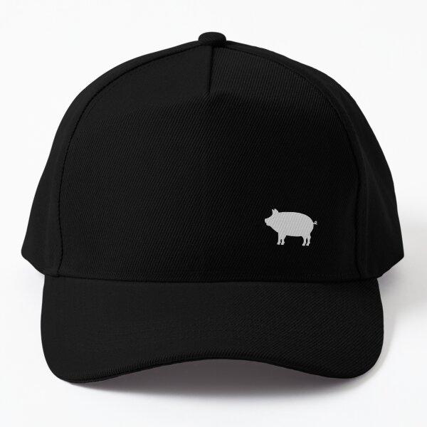Little Silver Pig Baseball Cap