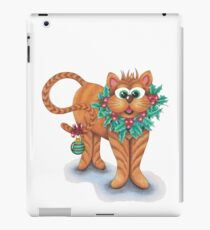 FELINE Festive!!!  iPad Case/Skin