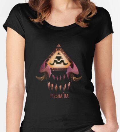 Alesha'ra Camiseta entallada de cuello redondo