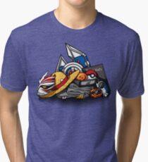 Anime Shonen & Monsters Tri-blend T-Shirt