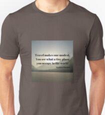 Mountain and Lake Exploration Unisex T-Shirt