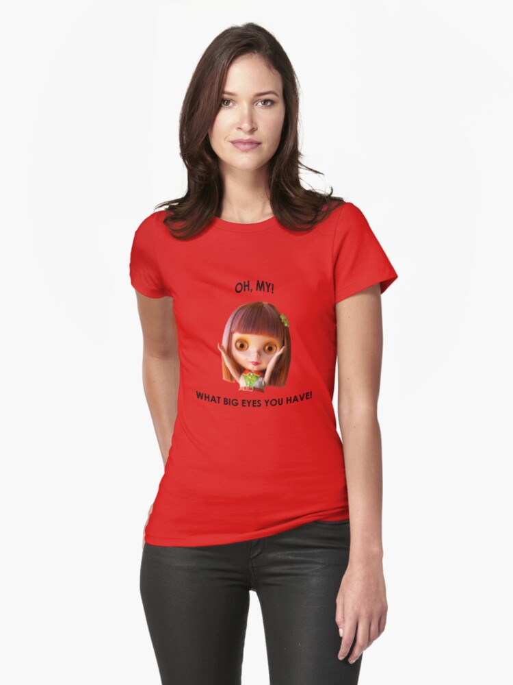 Blythe doll T-shirt:  What Big Eyes You Have! by phillaine