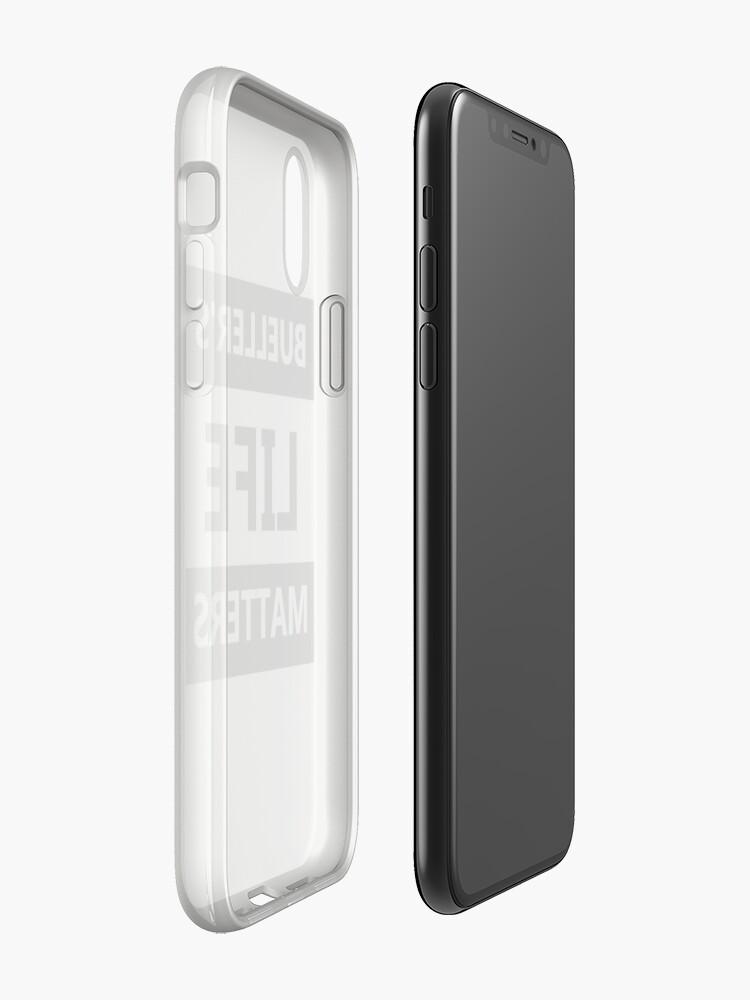 Alternative Ansicht von Das Leben von Bühler ist wichtig iPhone-Hülle & Cover