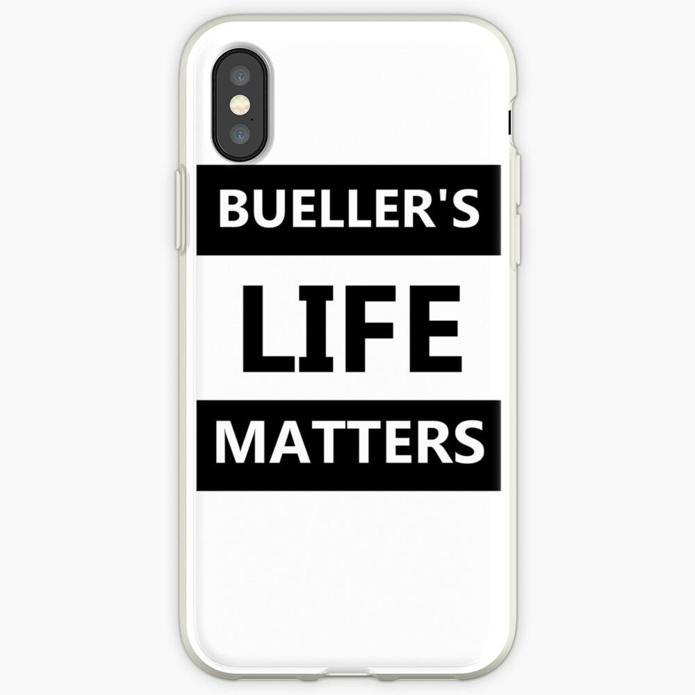 Das Leben von Bühler ist wichtig iPhone-Hülle & Cover
