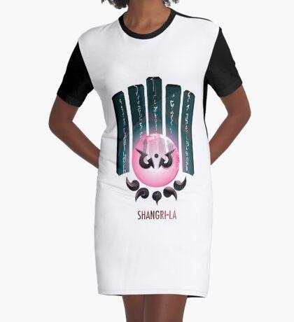 Shangri-la Vestido camiseta