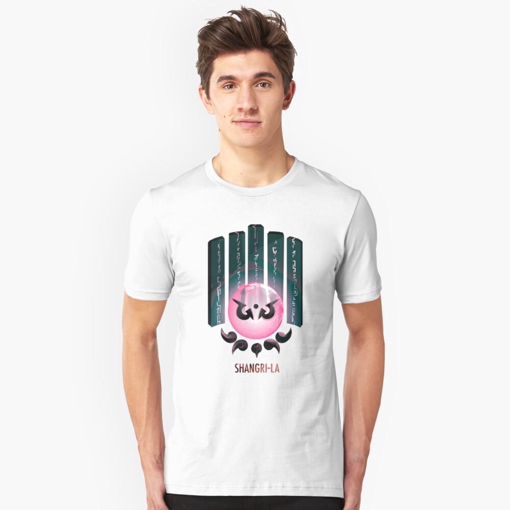 Camiseta unisexShangri-la Delante