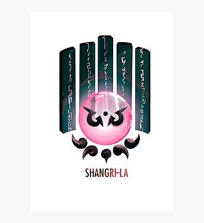 Shangri-la Lámina fotográfica